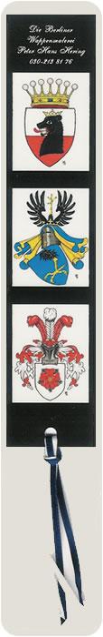 Peter Hans Hering, Wappen-Lesezeichen